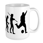 Soccer Evolution Large Mug