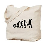 Soccer Evolution Tote Bag