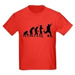 Soccer Evolution Kids Dark T-Shirt