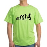 Soccer Evolution Green T-Shirt