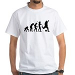 Soccer Evolution White T-Shirt