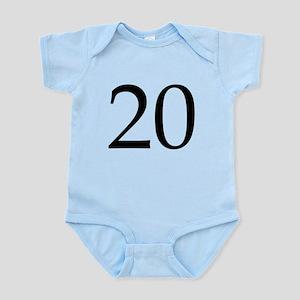 20 Infant Bodysuit