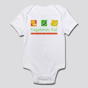 Vegetarian Kid Infant Creeper