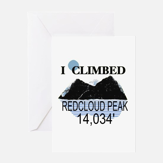 I Climbed Redcloud Peak Greeting Card