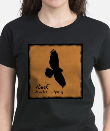 Hawk Women's Dark T-Shirt