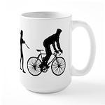 Cycling Evolution Large Mug
