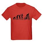 Cycling Evolution Kids Dark T-Shirt