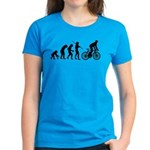 Cycling Evolution Women's Dark T-Shirt