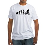 Cycling Evolution Fitted T-Shirt