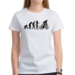 Cycling Evolution Women's T-Shirt