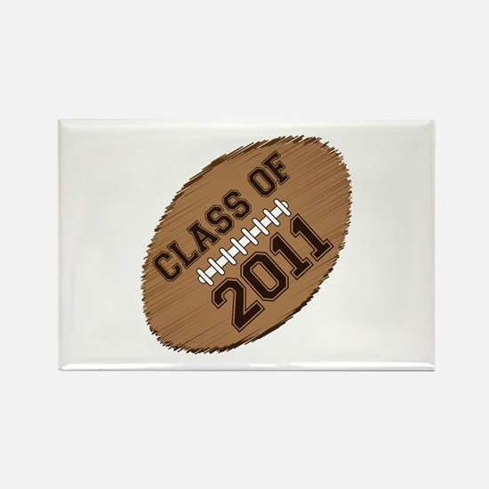 Class of 2011 Football Rectangle Magnet (100 pack)