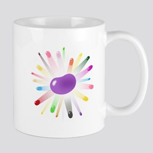 purple jellybean blowout Mug