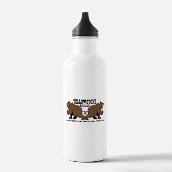 Grizzly Bears YNP Water Bottle