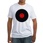 Dirty Dirty House Music Vinyl Fitted T-Shirt
