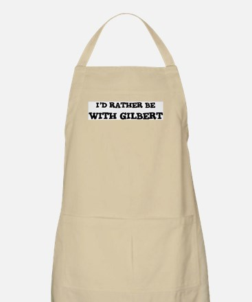 With Gilbert BBQ Apron