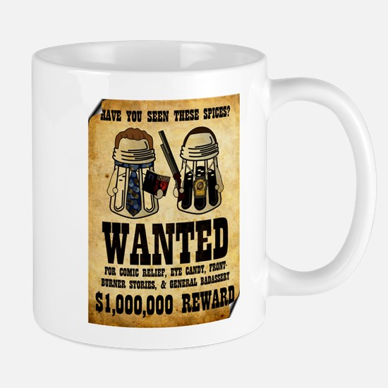 """Spices WANTED"" Mug"