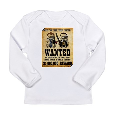 """""""Spices WANTED"""" Long Sleeve Infant T-Shirt"""