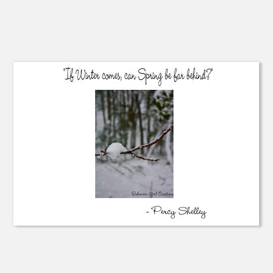Cute Tree poem Postcards (Package of 8)