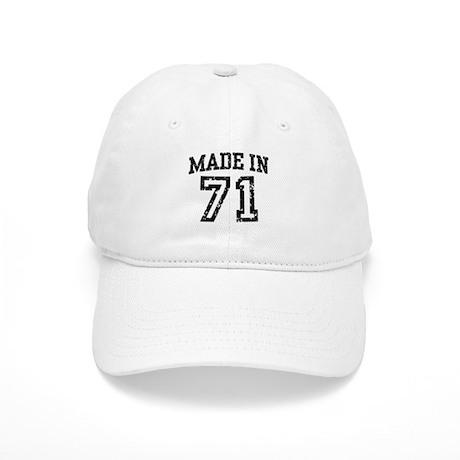 Made in 71 Cap