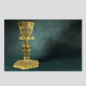 Gold Chalice Postcards (8 Pack)