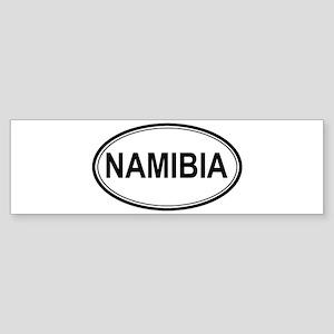 Namibia Euro Bumper Sticker