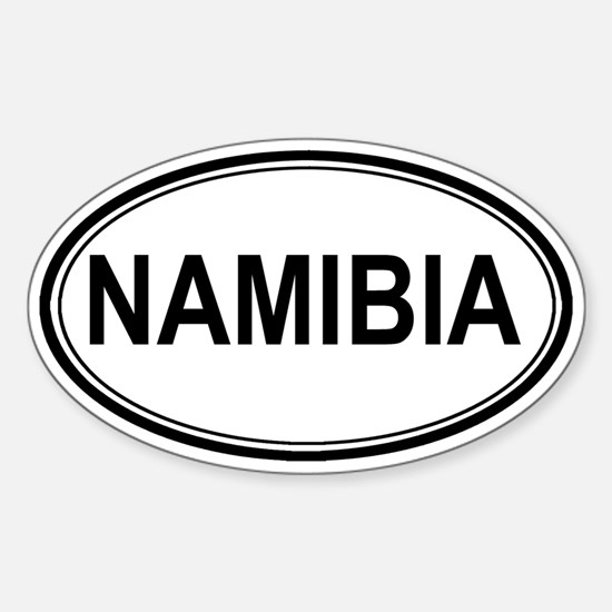 Namibia Euro Oval Decal