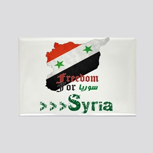 Freedom for Syria Rectangle Magnet