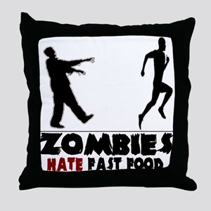 Funny Zombies Throw Pillow