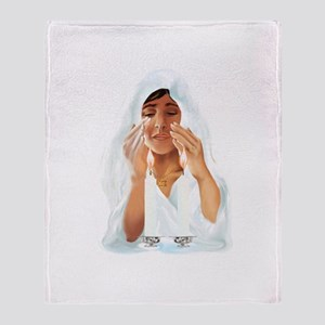 Best Wishes For Passover Throw Blanket