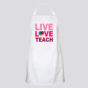 Live Love Teach Autism Apron