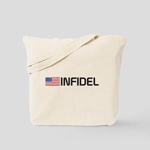 Vintage Infidel Tote Bag