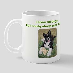 Akita Puppy Mug