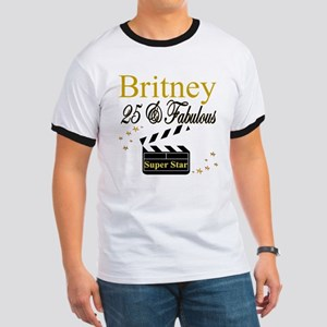FASHIONABLE 25TH Ringer T