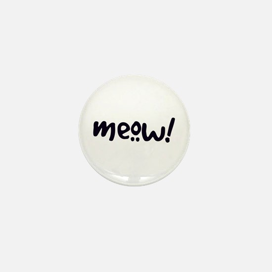 Meow! Cat-Themed Mini Button