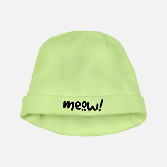 Meow! Cat-Themed baby hat