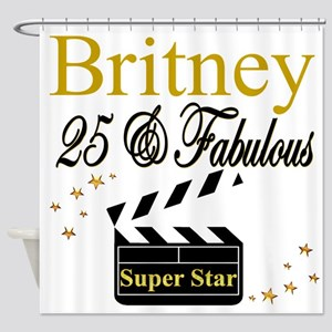 FASHIONABLE 25TH Shower Curtain