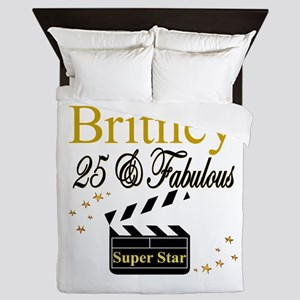 FASHIONABLE 25TH Queen Duvet