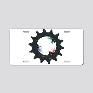 fixed gear cycling Aluminum License Plate