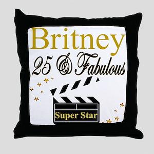 FASHIONABLE 25TH Throw Pillow