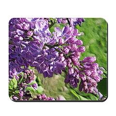 Lilacs #8125 Mousepad