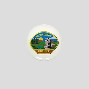 Benton County Sheriff Mini Button