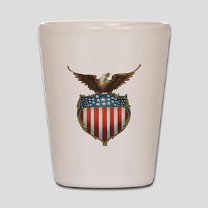 Vintage 4th of July Shot Glass
