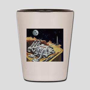 Vintage Science Fiction Shot Glass