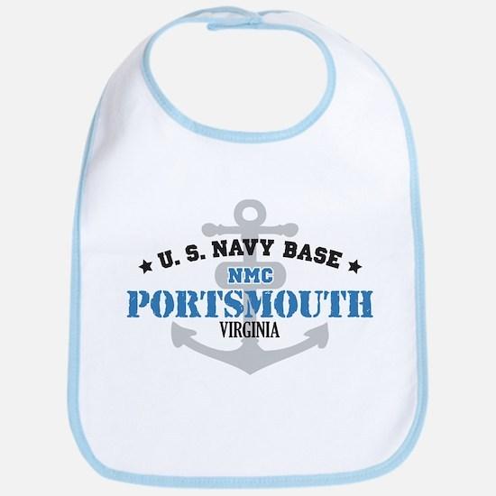 US Navy Portsmouth Base Bib