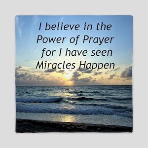 GOD MIRACLE Queen Duvet