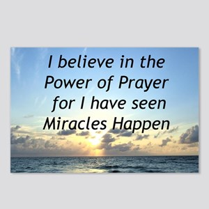 GOD MIRACLE Postcards (Package of 8)