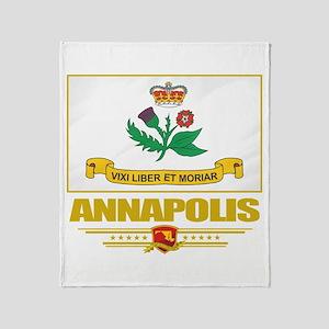 Annapolis Pride Throw Blanket