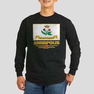 Annapolis Pride Long Sleeve Dark T-Shirt