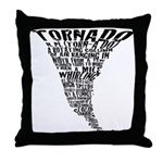 The Best Storm Chaser Ever in Throw Pillow
