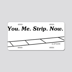 Strip Aluminum License Plate